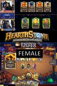 Hearthstone Female 2018